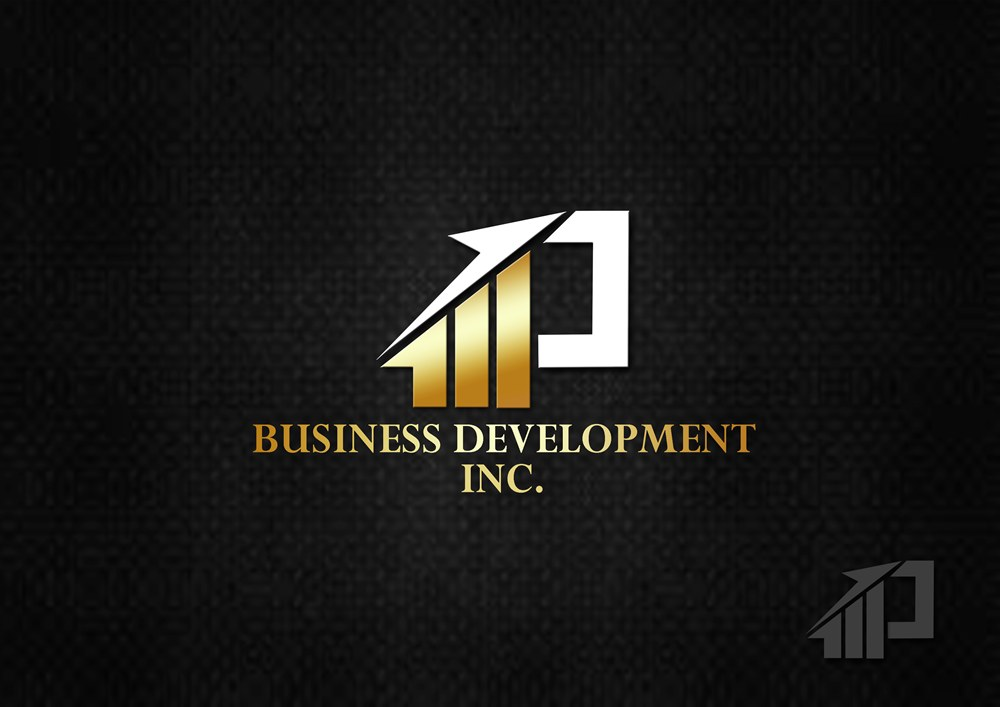 Logo Design by Respati Himawan - Entry No. 100 in the Logo Design Contest MP Business Development Inc. Logo Design.