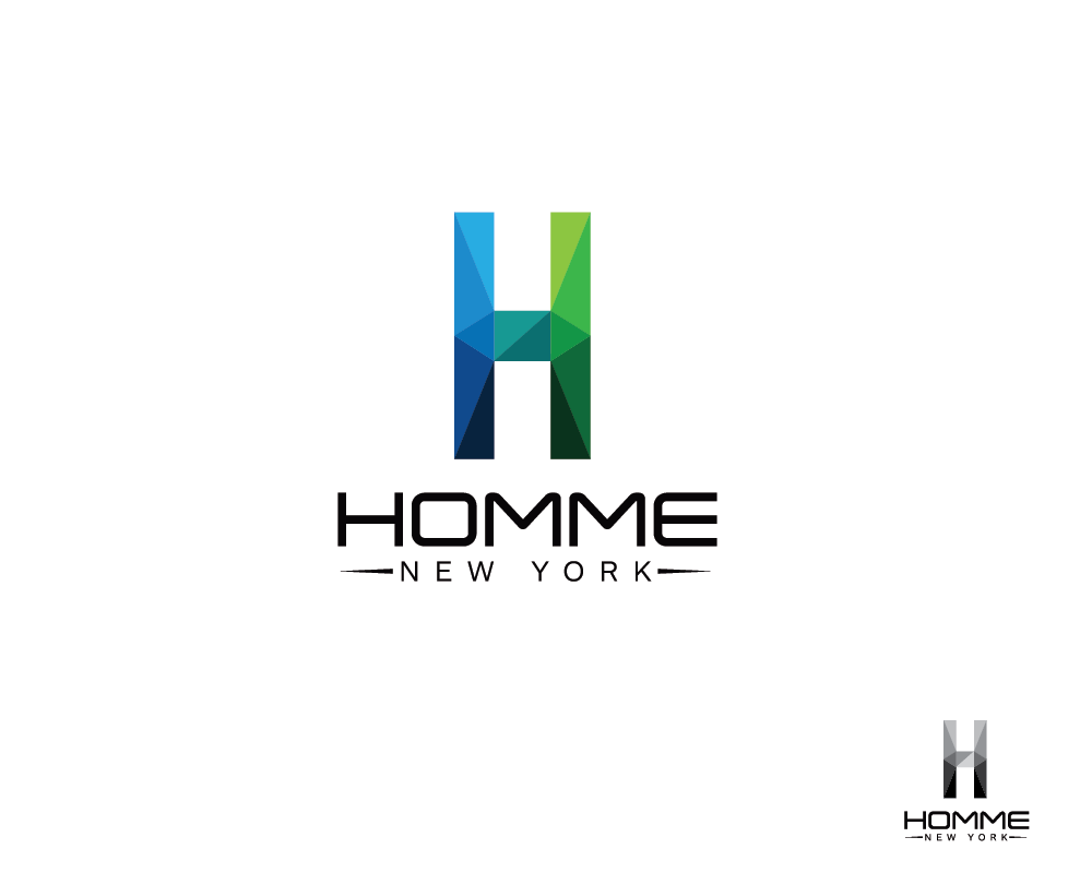 Logo Design by roc - Entry No. 3 in the Logo Design Contest Artistic Logo Design for HOMME | NEW YORK.