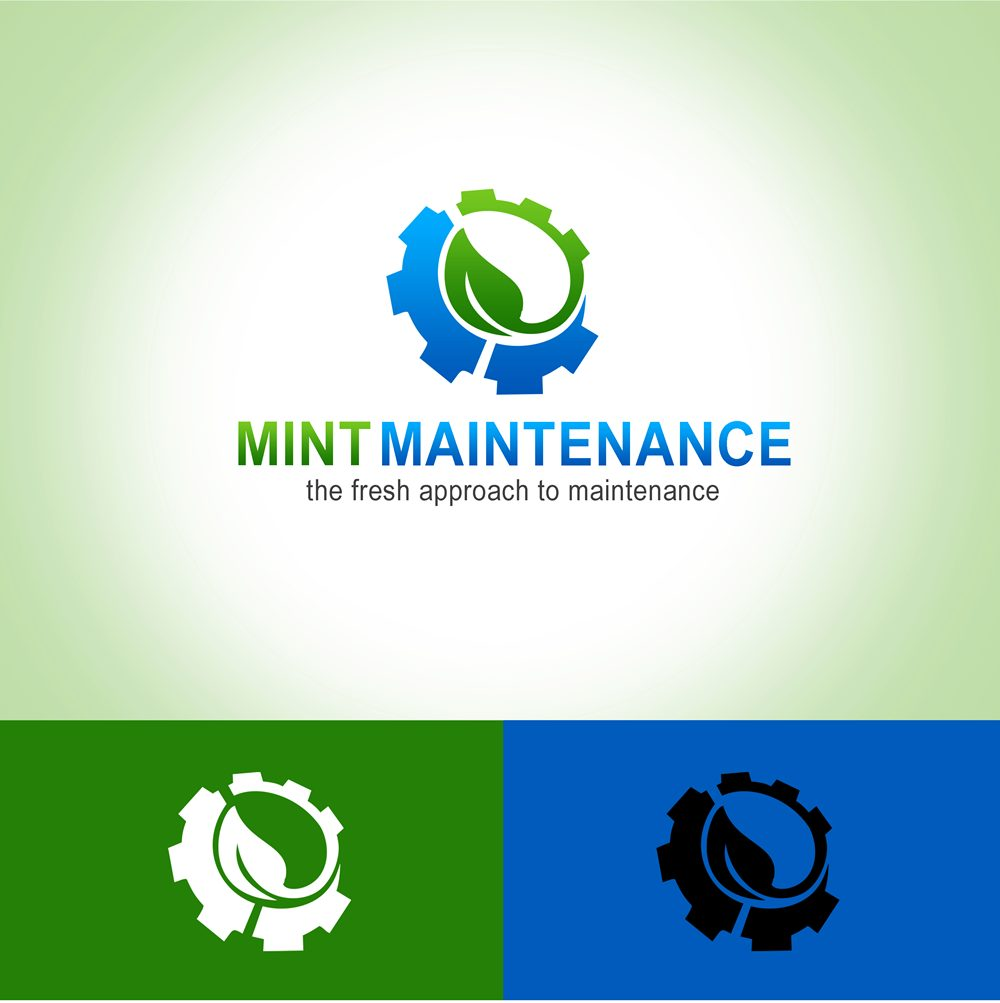 Logo Design by Respati Himawan - Entry No. 22 in the Logo Design Contest Creative Logo Design for Mint Maintenance.