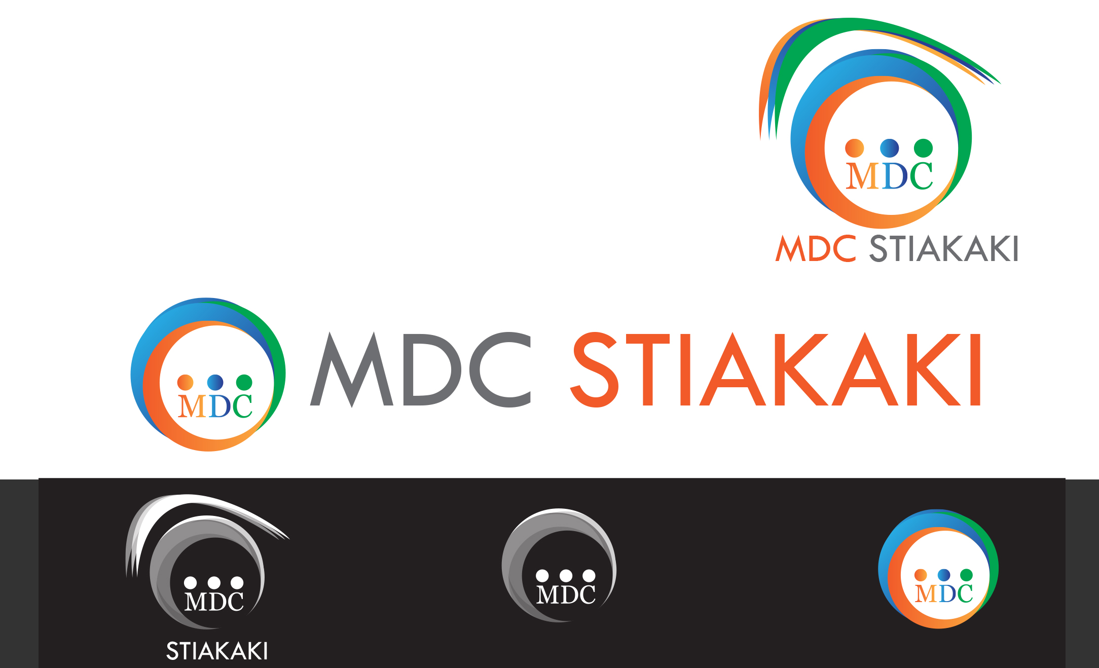 Logo Design by Leonard Anthony Alloso - Entry No. 70 in the Logo Design Contest Unique Logo Design Wanted for MDC STIAKAKIS.