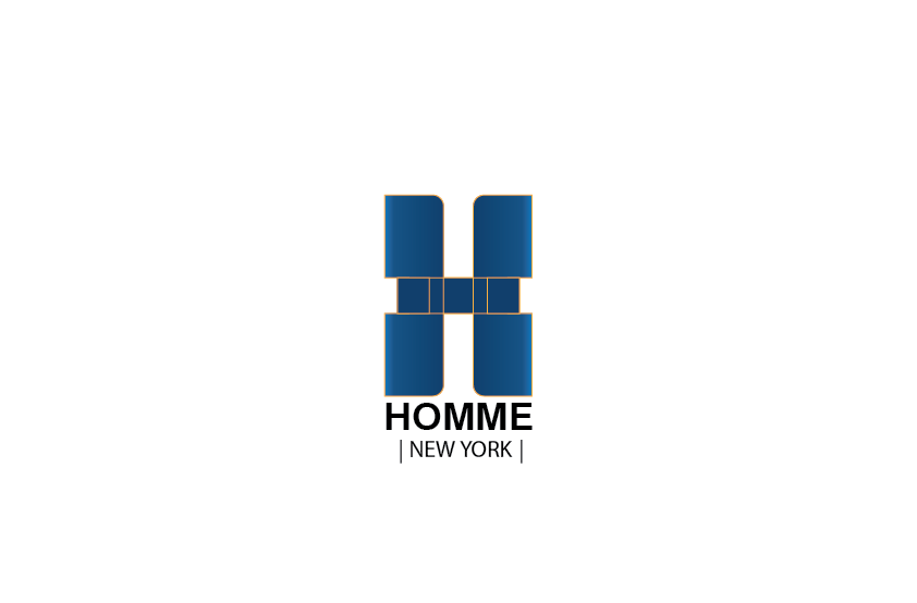 Logo Design by Private User - Entry No. 7 in the Logo Design Contest Artistic Logo Design for HOMME | NEW YORK.