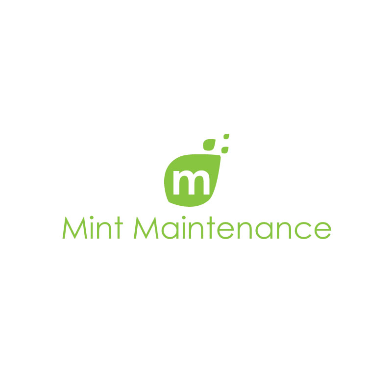 Logo Design by Private User - Entry No. 23 in the Logo Design Contest Creative Logo Design for Mint Maintenance.