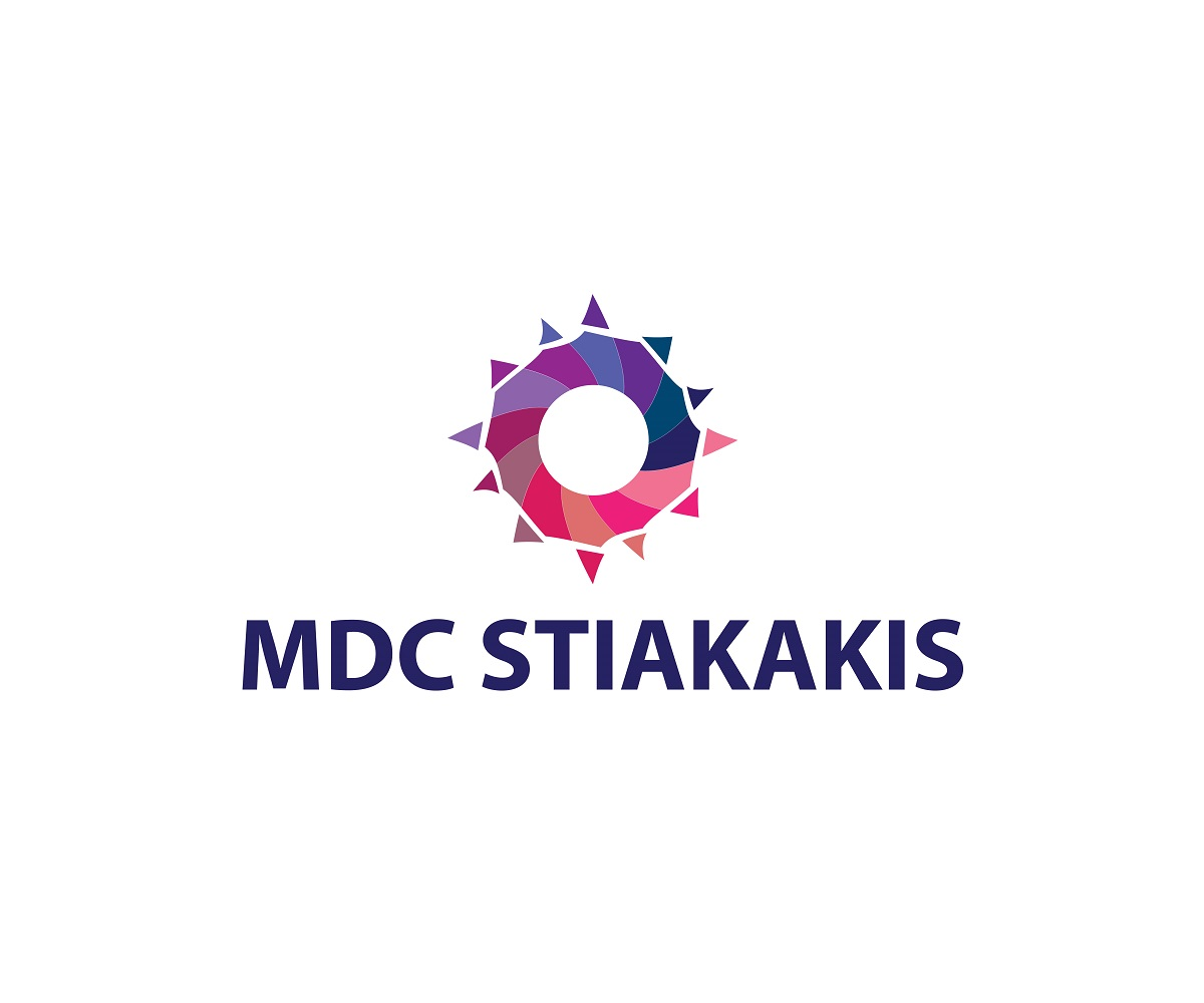 Logo Design by jhunzkie24 - Entry No. 71 in the Logo Design Contest Unique Logo Design Wanted for MDC STIAKAKIS.