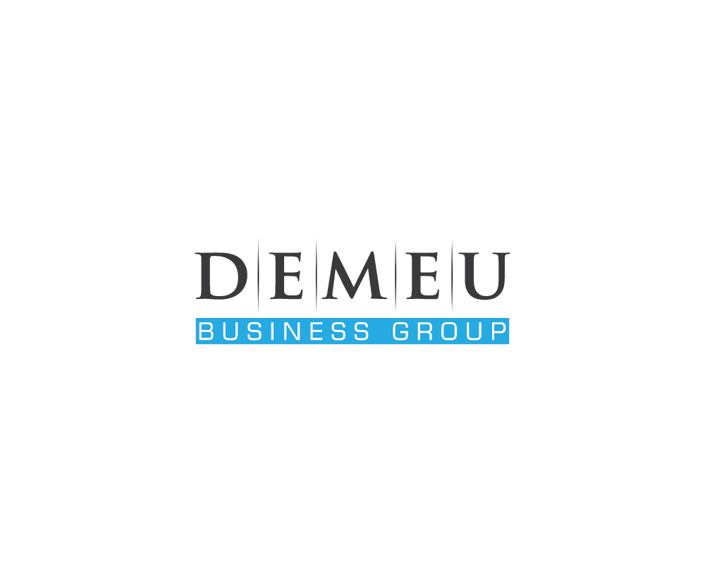 Logo Design by roc - Entry No. 8 in the Logo Design Contest Captivating Logo Design for DEMEU Business Group.