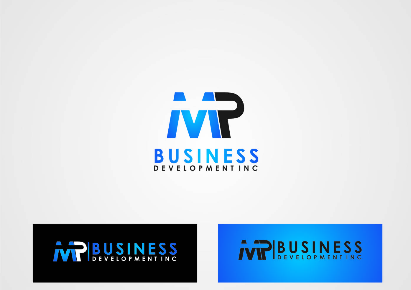 Logo Design by yanxsant - Entry No. 105 in the Logo Design Contest MP Business Development Inc. Logo Design.