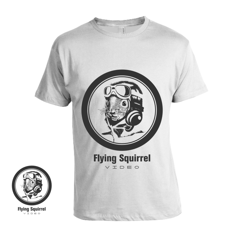 Logo Design by graphicleaf - Entry No. 34 in the Logo Design Contest Artistic Logo Design for Flying squirrel video.