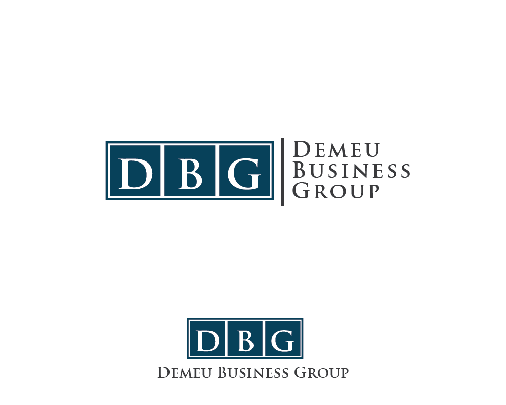 Logo Design by roc - Entry No. 10 in the Logo Design Contest Captivating Logo Design for DEMEU Business Group.