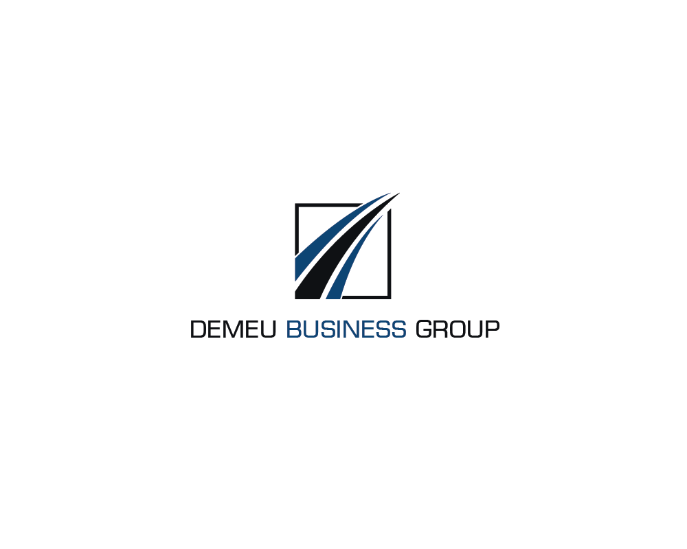Logo Design by roc - Entry No. 11 in the Logo Design Contest Captivating Logo Design for DEMEU Business Group.