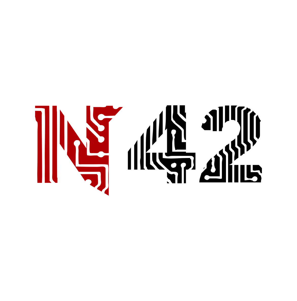 Logo Design by RasYa Muhammad Athaya - Entry No. 1 in the Logo Design Contest Artistic Logo Design for Number 42.