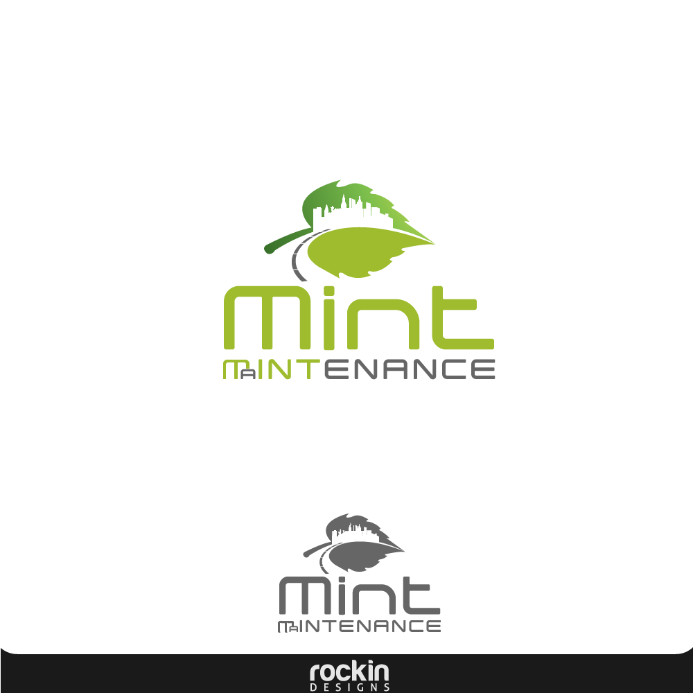 Logo Design by rockin - Entry No. 35 in the Logo Design Contest Creative Logo Design for Mint Maintenance.