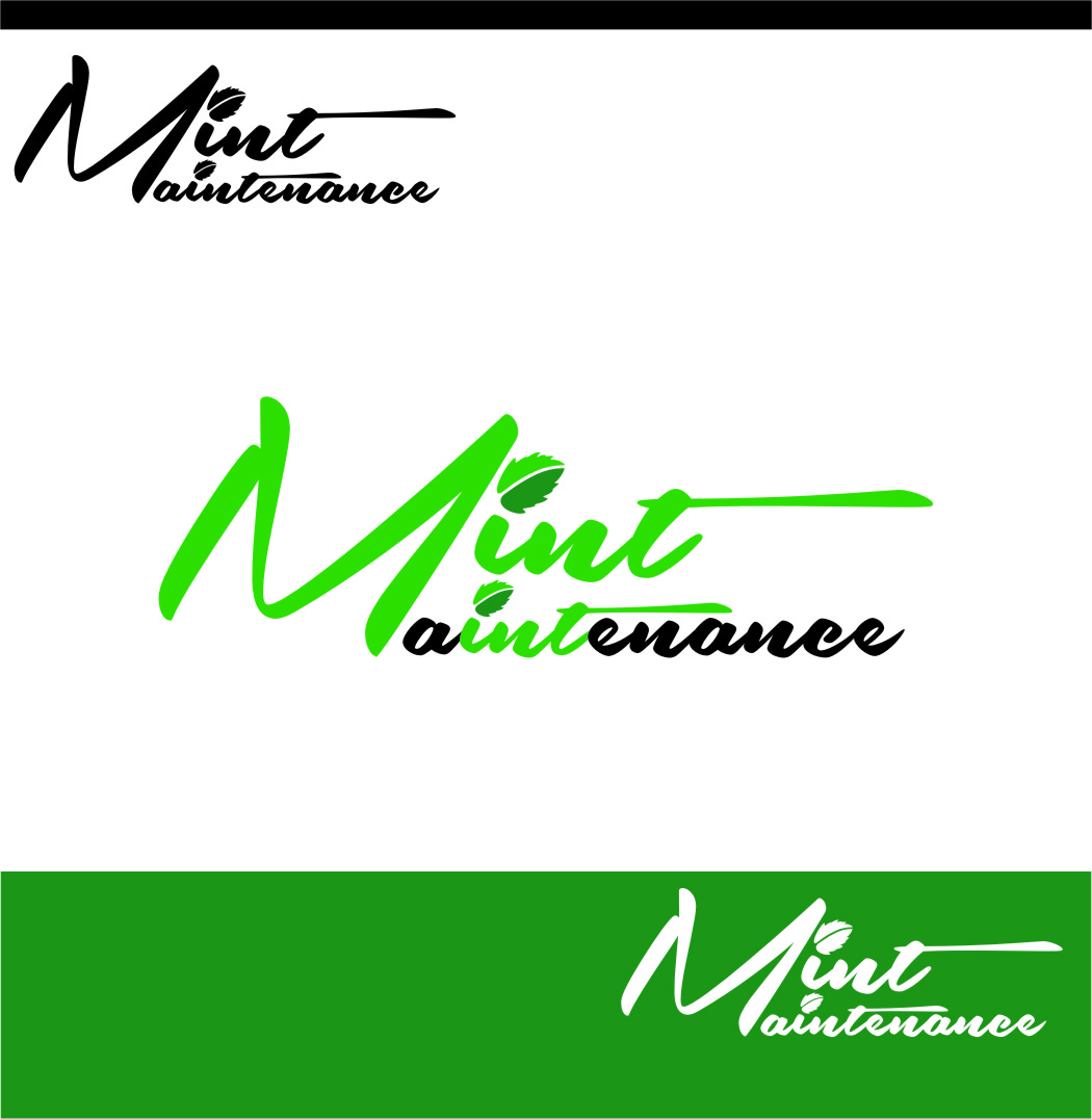 Logo Design by Ngepet_art - Entry No. 36 in the Logo Design Contest Creative Logo Design for Mint Maintenance.