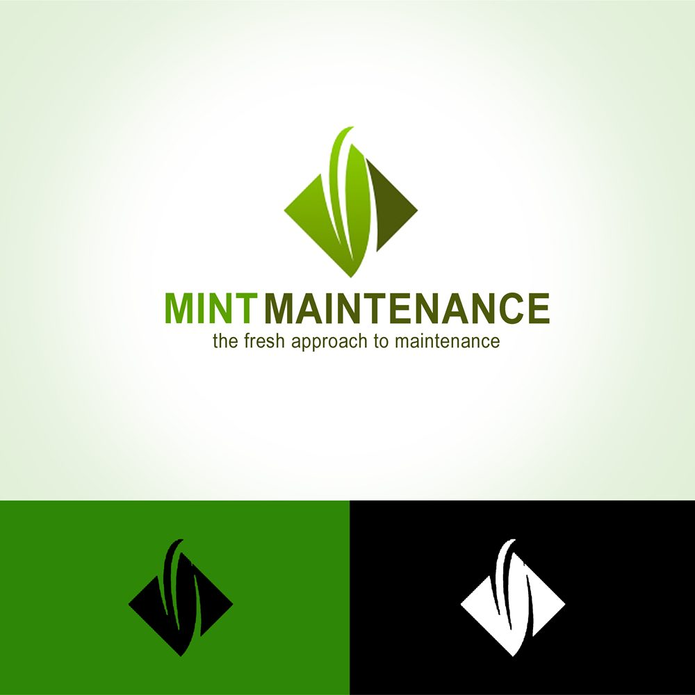 Logo Design by Respati Himawan - Entry No. 37 in the Logo Design Contest Creative Logo Design for Mint Maintenance.