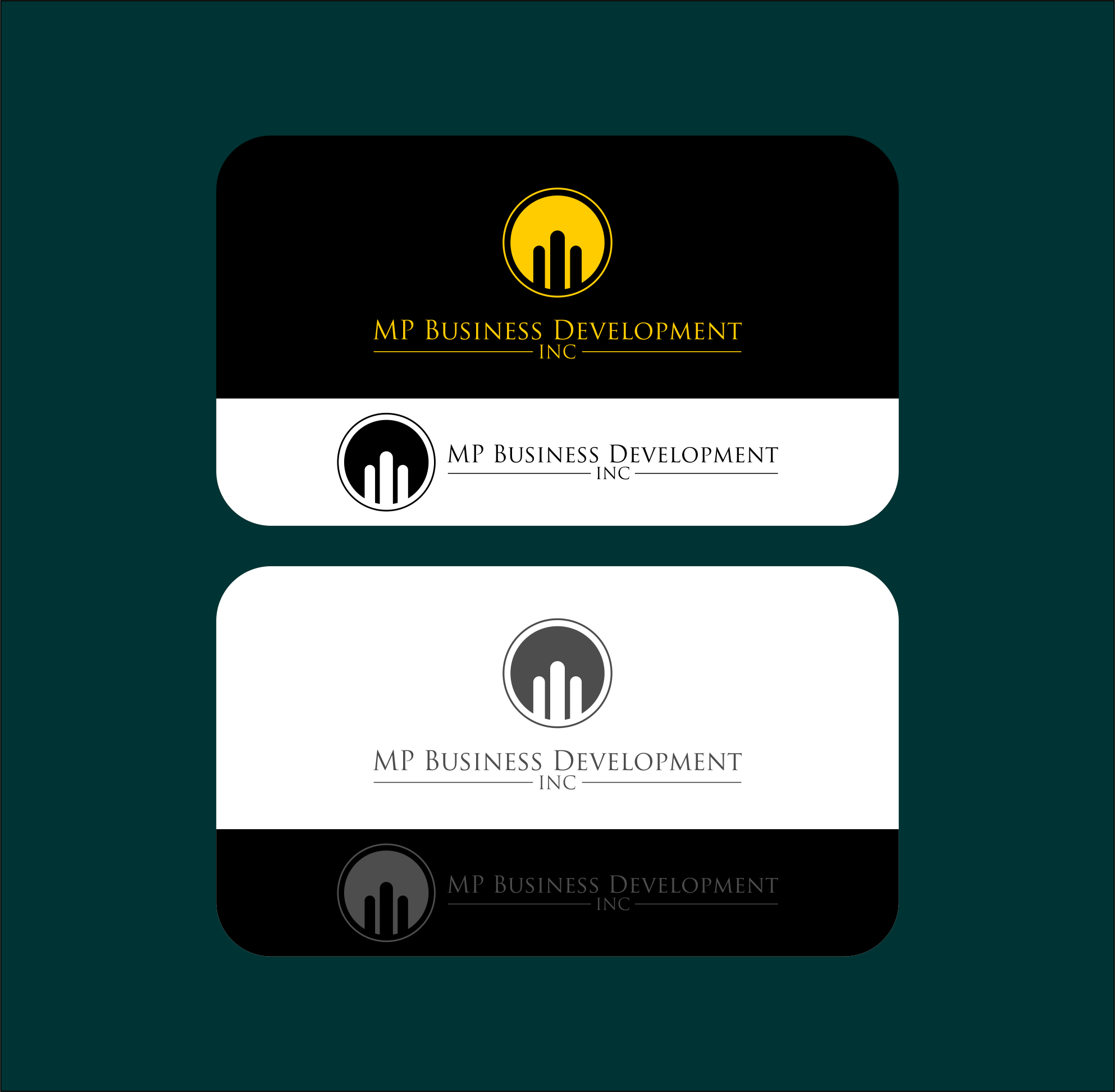 Logo Design by Agus Martoyo - Entry No. 112 in the Logo Design Contest MP Business Development Inc. Logo Design.