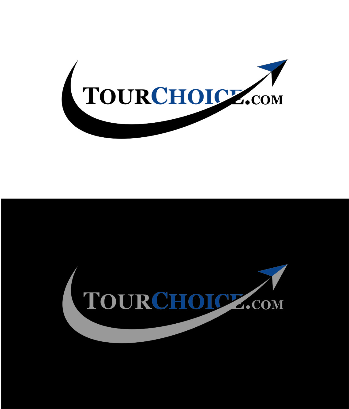 Logo Design by Ngepet_art - Entry No. 74 in the Logo Design Contest www.TourChoice.com Logo Design.
