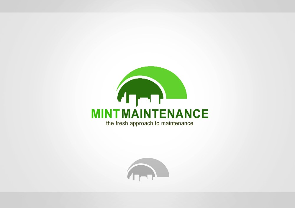Logo Design by Respati Himawan - Entry No. 39 in the Logo Design Contest Creative Logo Design for Mint Maintenance.