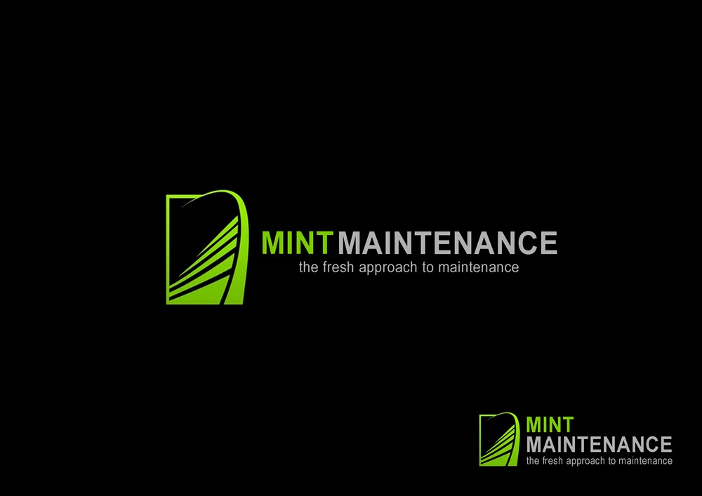 Logo Design by Respati Himawan - Entry No. 40 in the Logo Design Contest Creative Logo Design for Mint Maintenance.