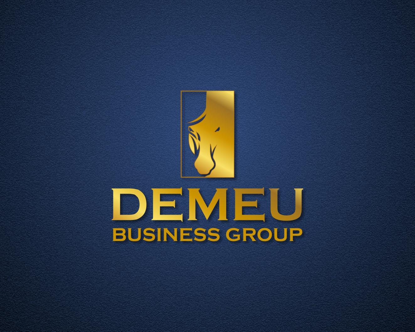 Logo Design by Rares.Andrei - Entry No. 13 in the Logo Design Contest Captivating Logo Design for DEMEU Business Group.