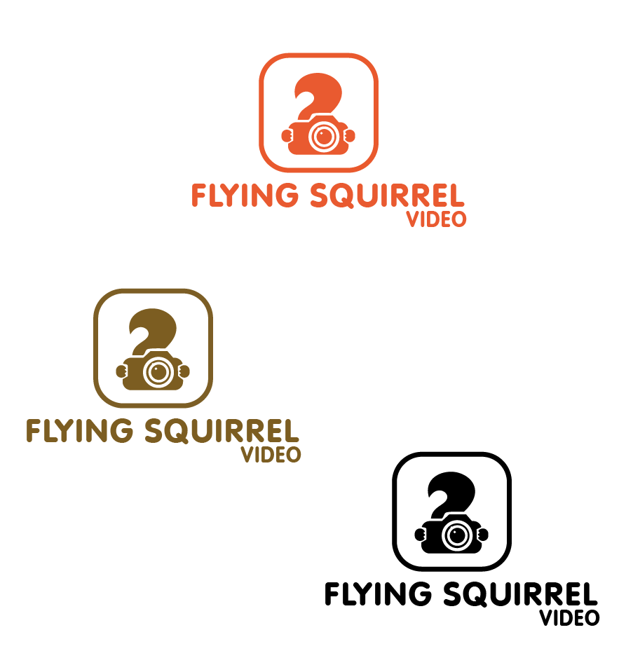 Logo Design by brands_in - Entry No. 42 in the Logo Design Contest Artistic Logo Design for Flying squirrel video.