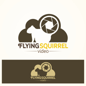 Logo Design by Private User - Entry No. 48 in the Logo Design Contest Artistic Logo Design for Flying squirrel video.