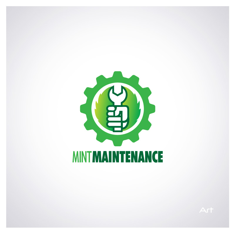 Logo Design by Puspita Wahyuni - Entry No. 44 in the Logo Design Contest Creative Logo Design for Mint Maintenance.