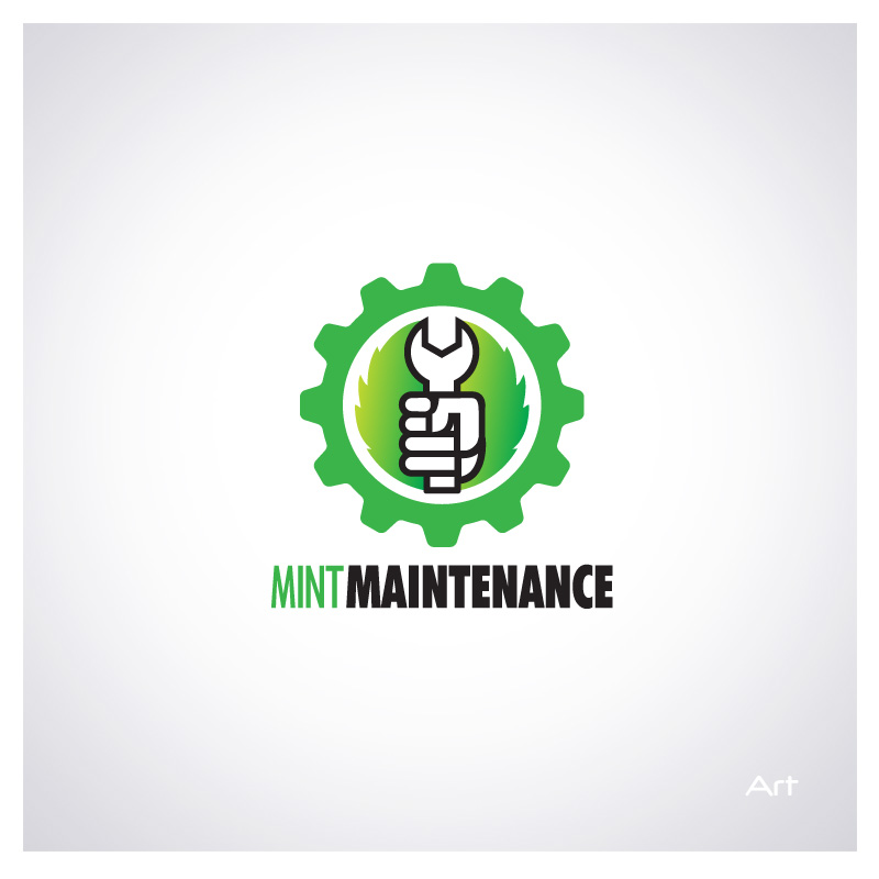 Logo Design by Puspita Wahyuni - Entry No. 45 in the Logo Design Contest Creative Logo Design for Mint Maintenance.