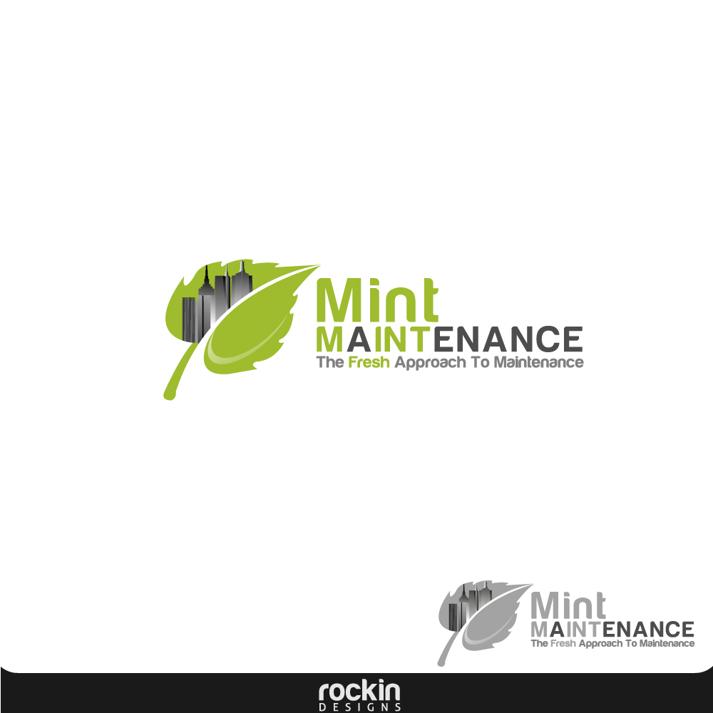 Logo Design by rockin - Entry No. 48 in the Logo Design Contest Creative Logo Design for Mint Maintenance.