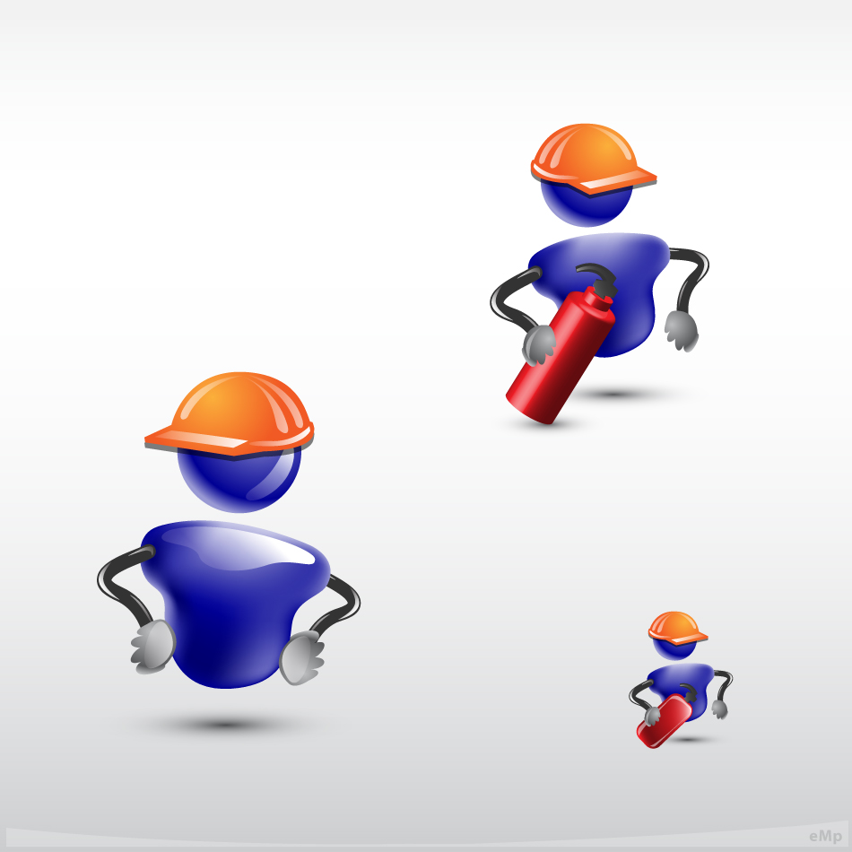 Logo Design by eMp - Entry No. 28 in the Logo Design Contest Character for E-Learning Courses.