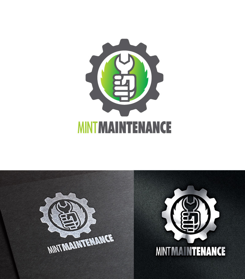 Logo Design by Puspita Wahyuni - Entry No. 49 in the Logo Design Contest Creative Logo Design for Mint Maintenance.
