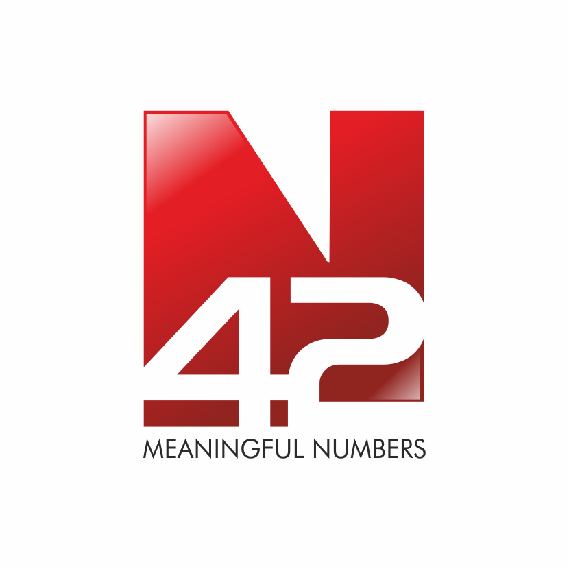 Logo Design by montoshlall - Entry No. 16 in the Logo Design Contest Artistic Logo Design for Number 42.