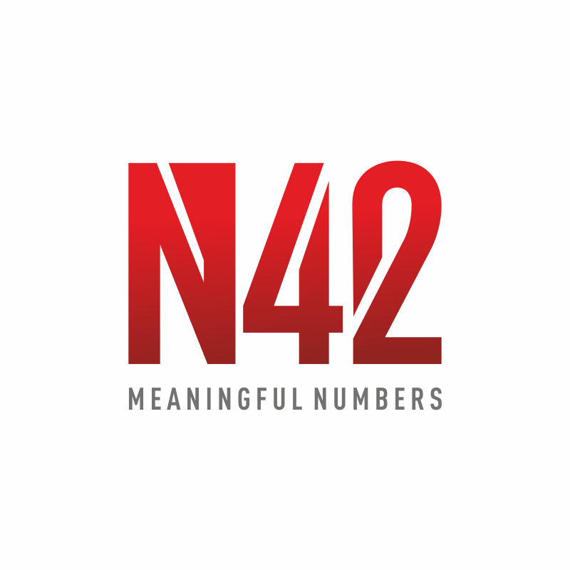 Logo Design by montoshlall - Entry No. 17 in the Logo Design Contest Artistic Logo Design for Number 42.