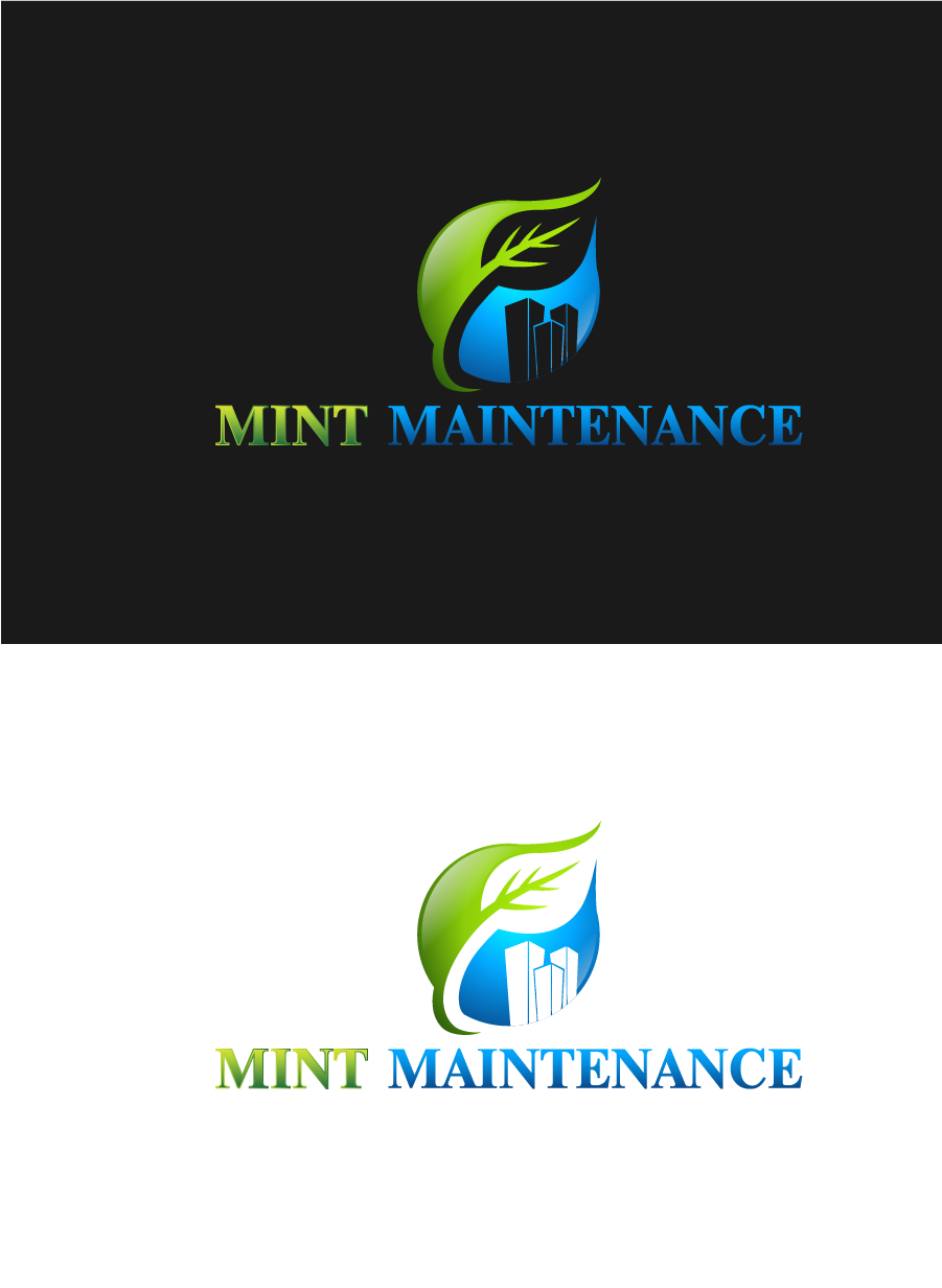 Logo Design by Private User - Entry No. 54 in the Logo Design Contest Creative Logo Design for Mint Maintenance.