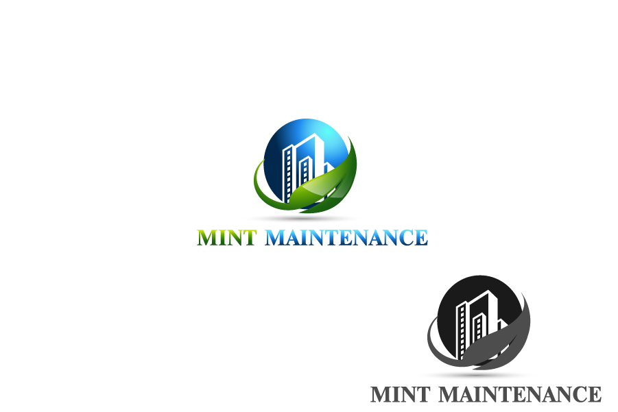Logo Design by Private User - Entry No. 55 in the Logo Design Contest Creative Logo Design for Mint Maintenance.