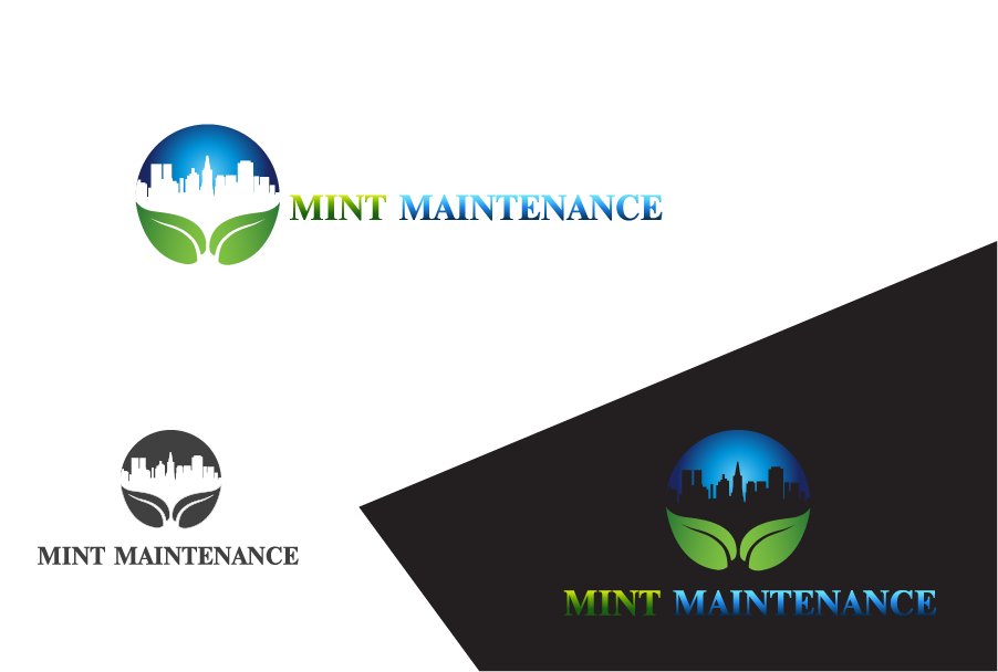 Logo Design by Private User - Entry No. 56 in the Logo Design Contest Creative Logo Design for Mint Maintenance.