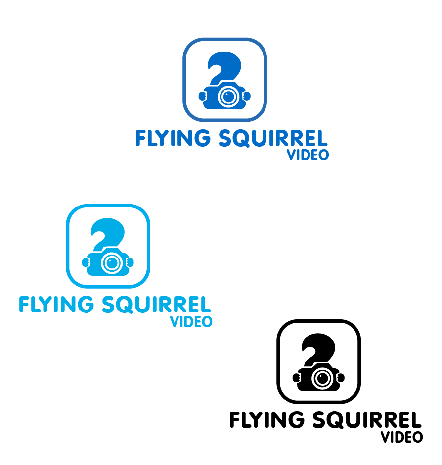 Logo Design by brands_in - Entry No. 56 in the Logo Design Contest Artistic Logo Design for Flying squirrel video.