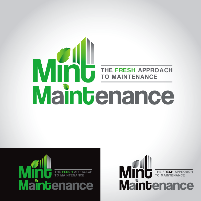 Logo Design by luna - Entry No. 67 in the Logo Design Contest Creative Logo Design for Mint Maintenance.