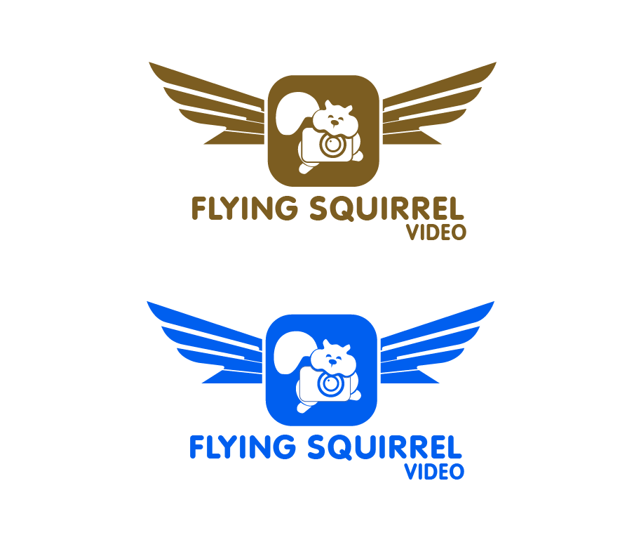Logo Design by brands_in - Entry No. 58 in the Logo Design Contest Artistic Logo Design for Flying squirrel video.
