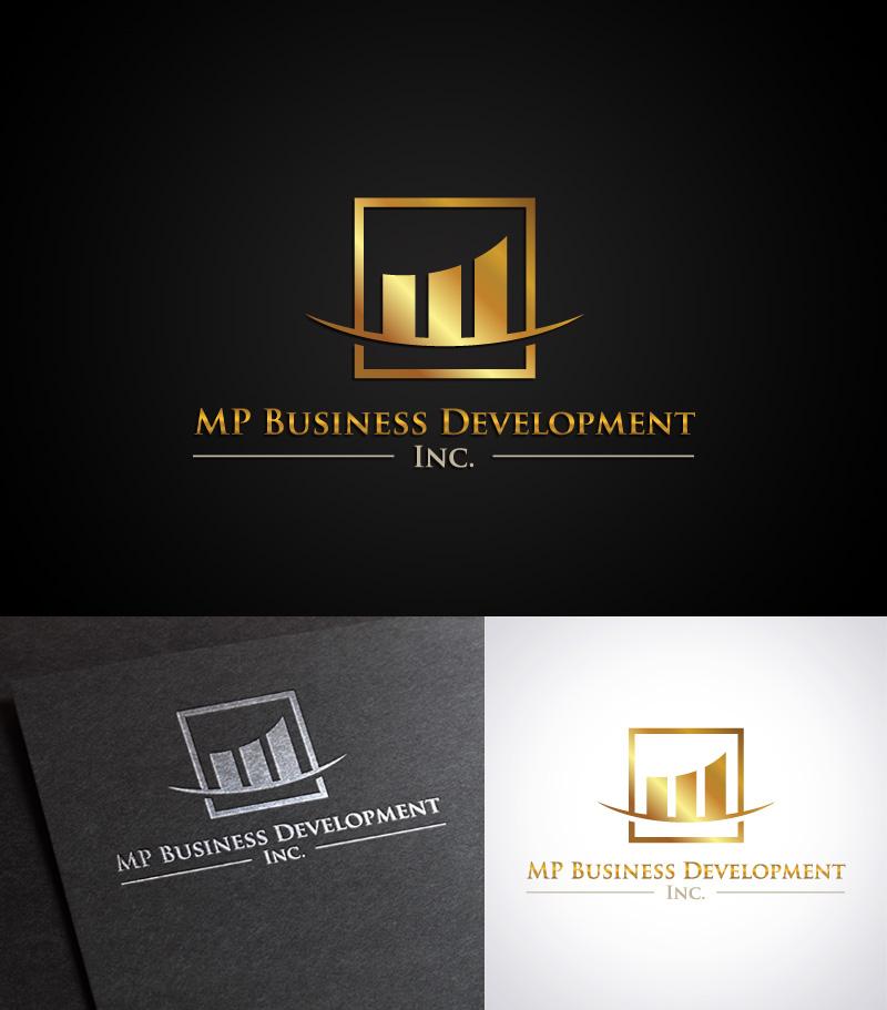 Logo Design by Puspita Wahyuni - Entry No. 126 in the Logo Design Contest MP Business Development Inc. Logo Design.