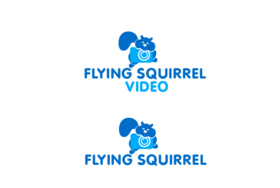 Logo Design by brands_in - Entry No. 59 in the Logo Design Contest Artistic Logo Design for Flying squirrel video.