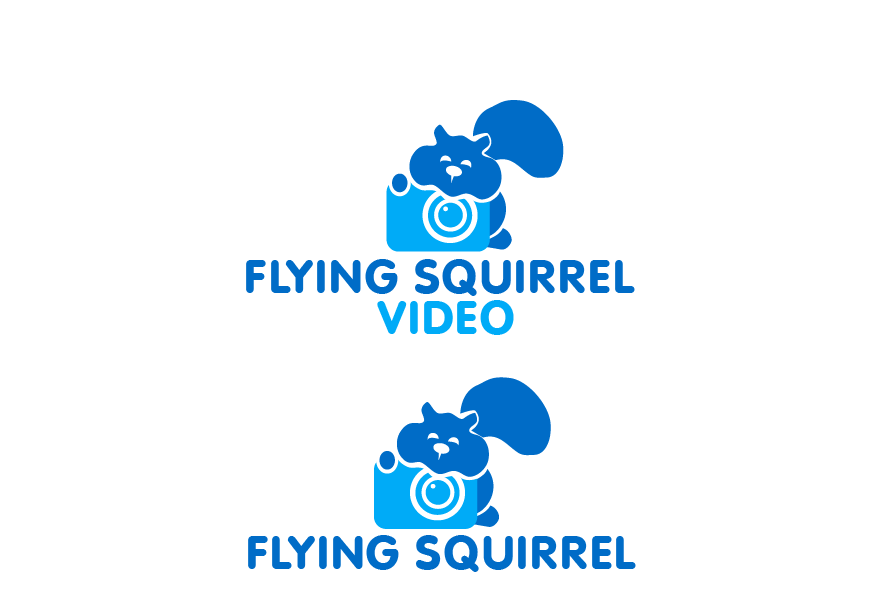 Logo Design by brands_in - Entry No. 60 in the Logo Design Contest Artistic Logo Design for Flying squirrel video.