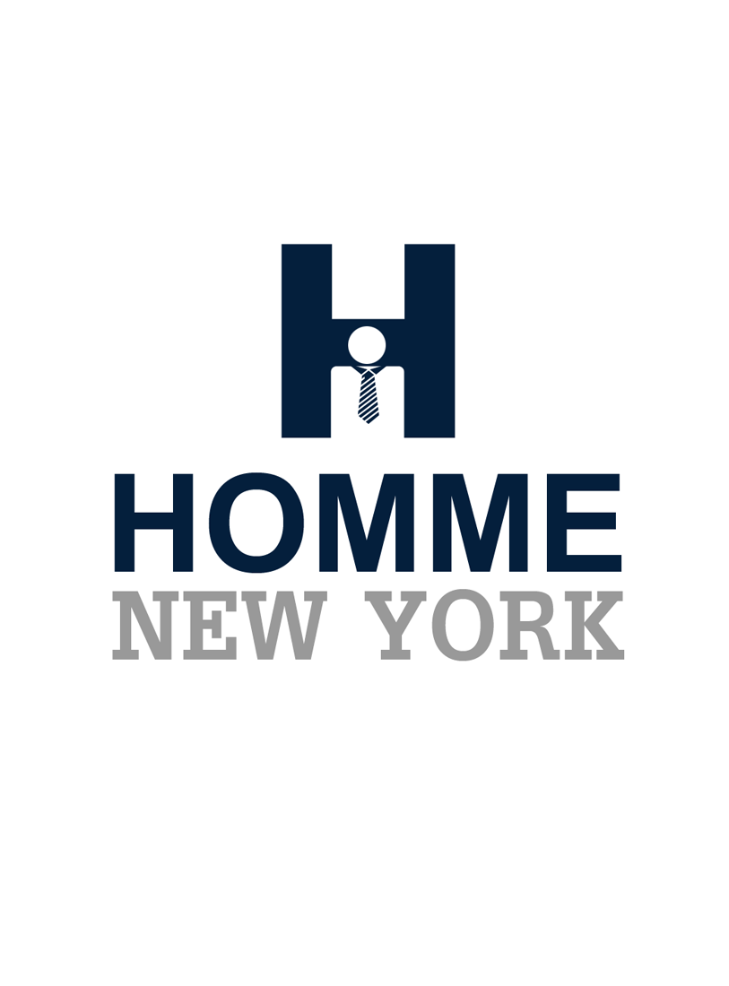 Logo Design by Robert Turla - Entry No. 22 in the Logo Design Contest Artistic Logo Design for HOMME | NEW YORK.