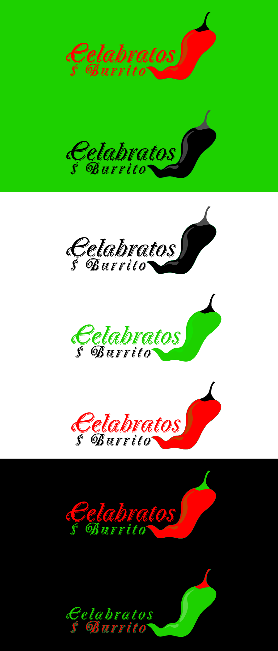 Logo Design by Private User - Entry No. 101 in the Logo Design Contest Imaginative Logo Design for Celabratos.