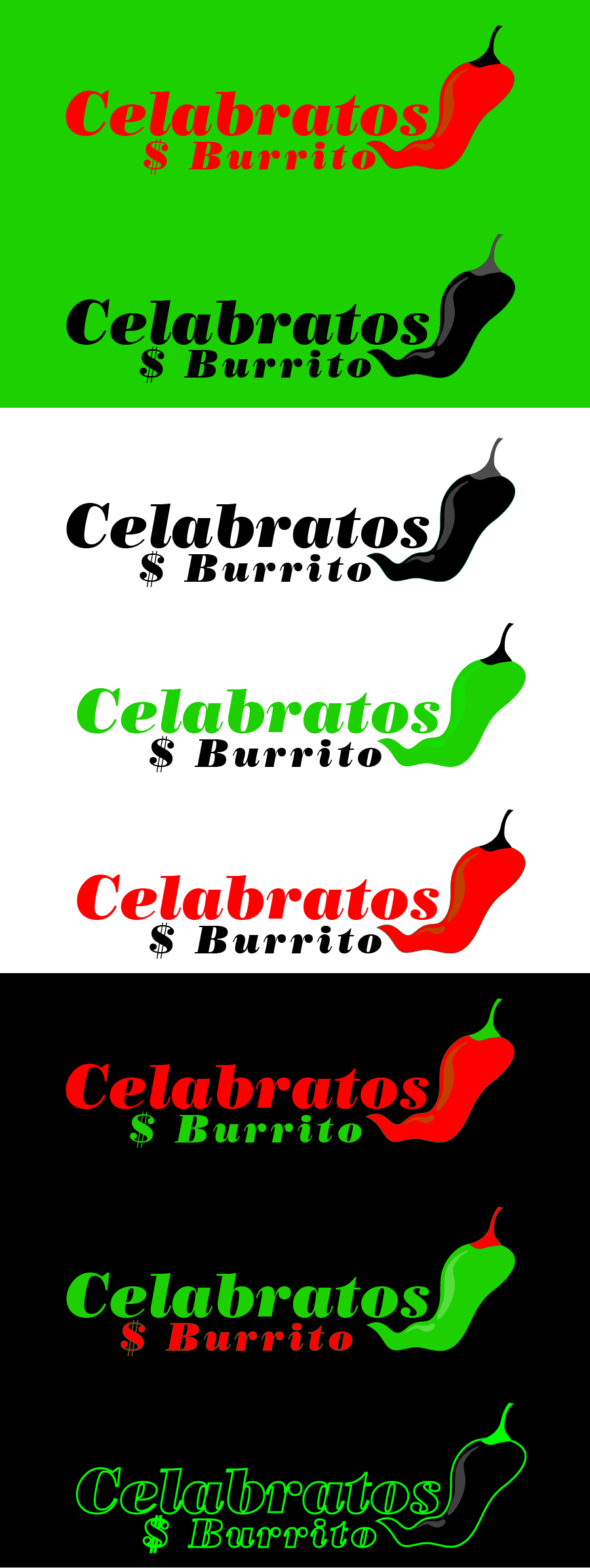 Logo Design by Private User - Entry No. 102 in the Logo Design Contest Imaginative Logo Design for Celabratos.
