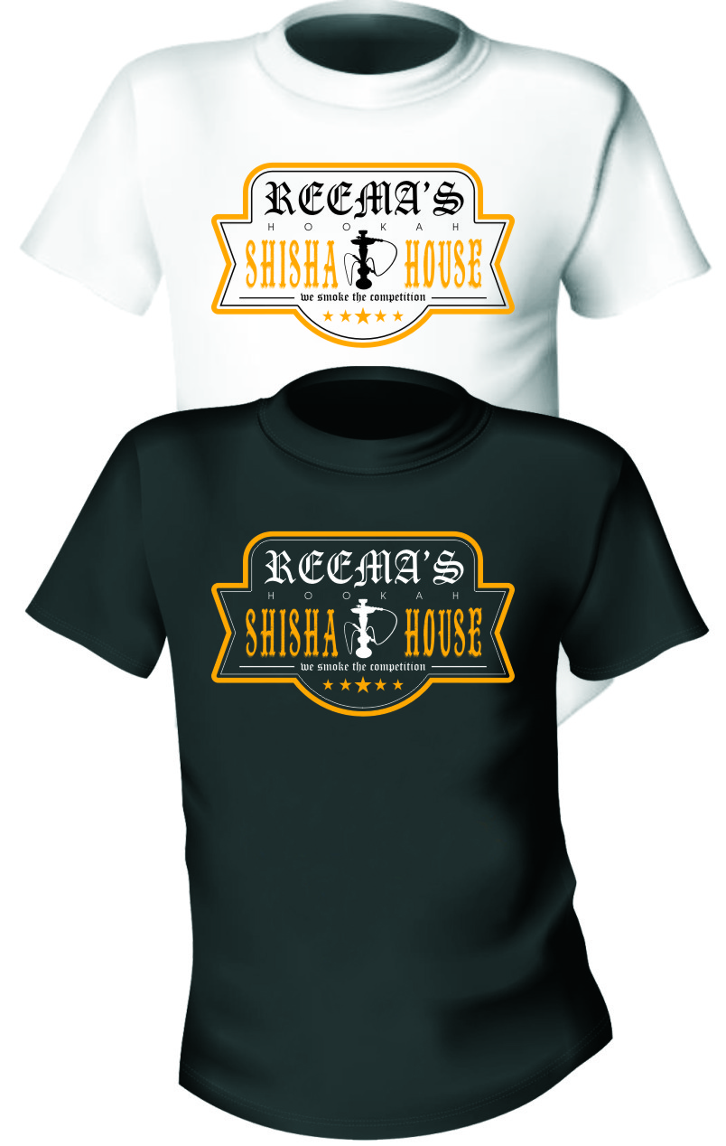 Logo Design by Ngepet_art - Entry No. 53 in the Logo Design Contest Captivating Logo Design for Reema's Shisha House.