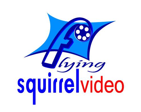 Logo Design by Nirmali Kaushalya - Entry No. 64 in the Logo Design Contest Artistic Logo Design for Flying squirrel video.