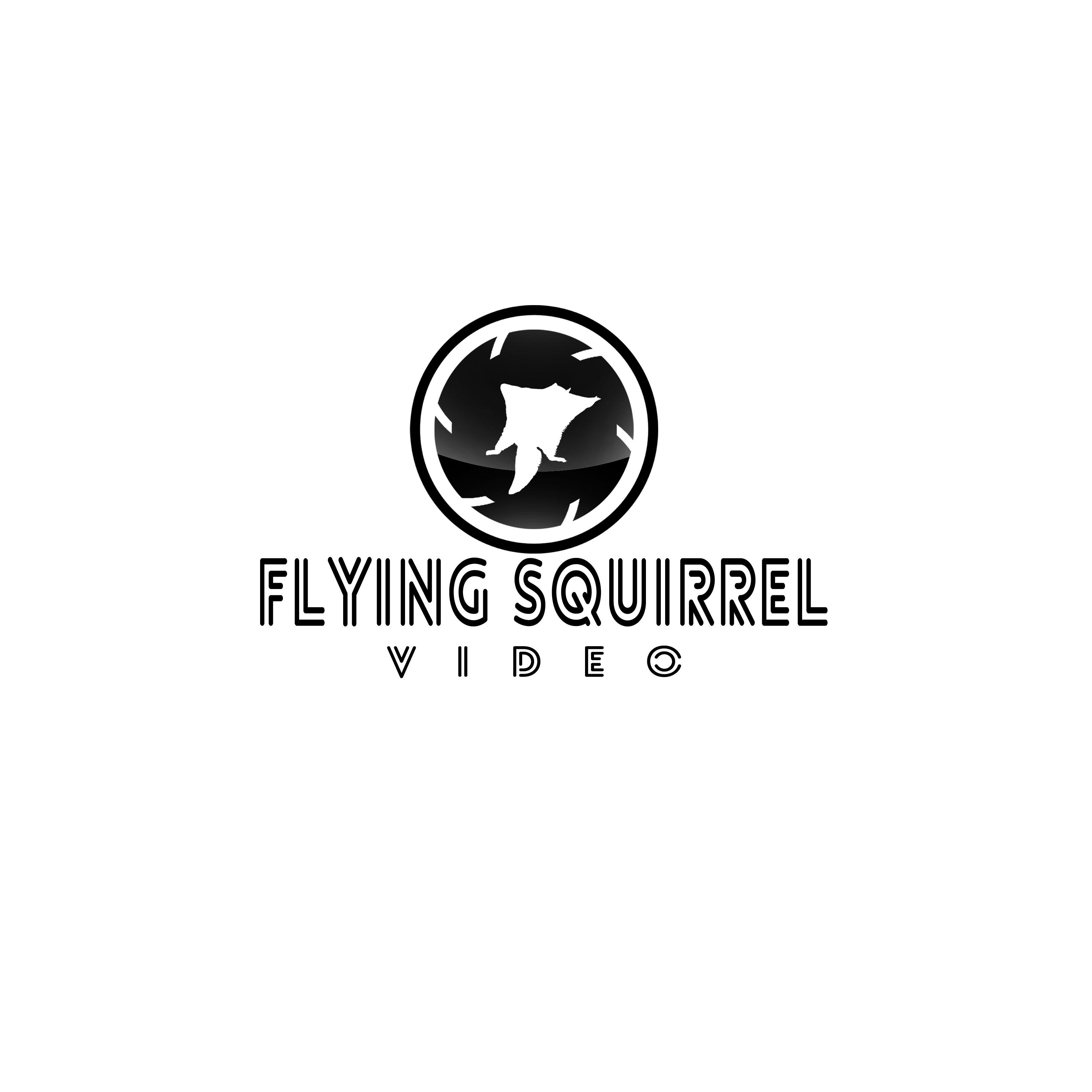 Logo Design by Allan Esclamado - Entry No. 68 in the Logo Design Contest Artistic Logo Design for Flying squirrel video.