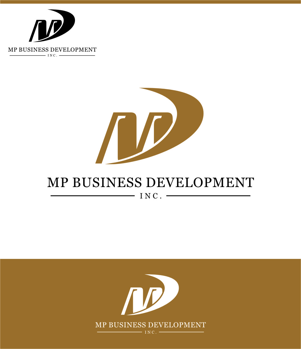 Logo Design by Ngepet_art - Entry No. 133 in the Logo Design Contest MP Business Development Inc. Logo Design.