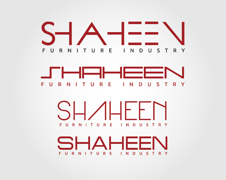 Logo Design by VENTSISLAV KOVACHEV - Entry No. 72 in the Logo Design Contest Artistic Logo Design for Shaheen Furniture Industry Co..