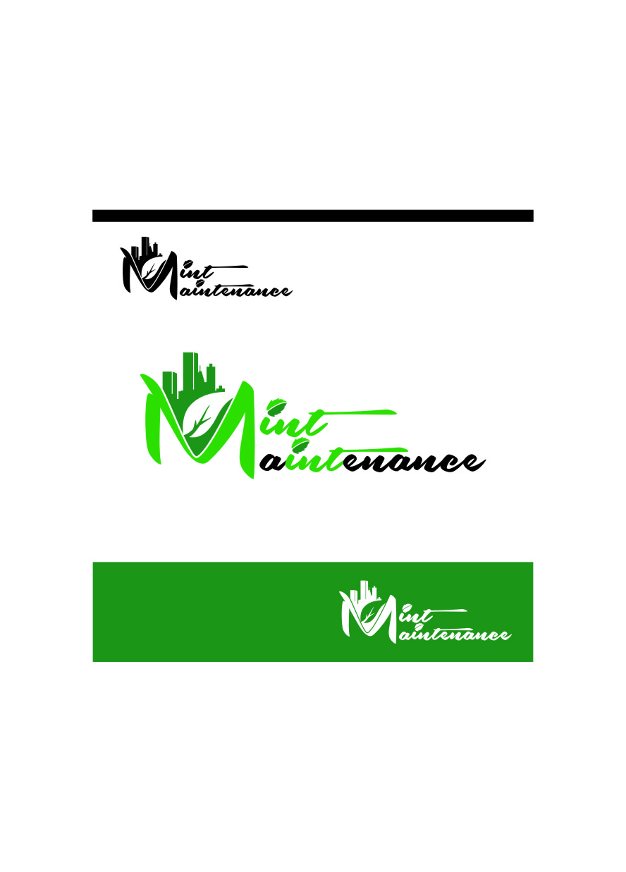Logo Design by RoSyid Rono-Rene On Java - Entry No. 73 in the Logo Design Contest Creative Logo Design for Mint Maintenance.