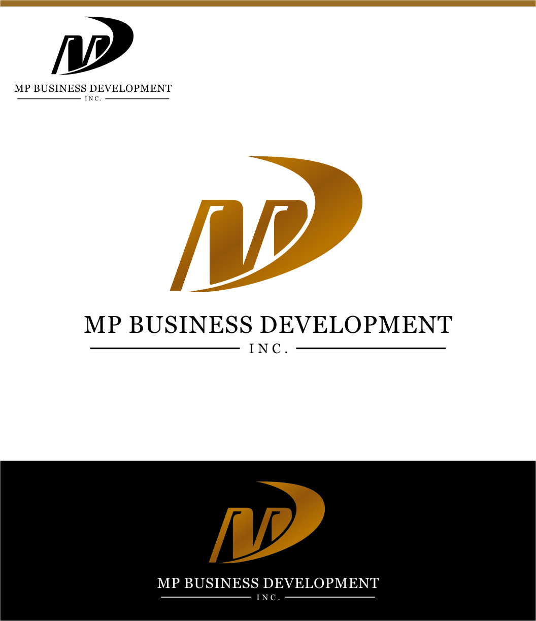 Logo Design by RasYa Muhammad Athaya - Entry No. 138 in the Logo Design Contest MP Business Development Inc. Logo Design.