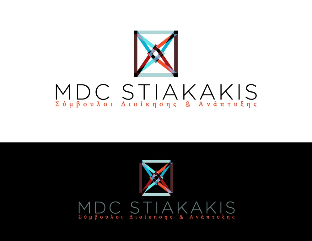 Logo Design by Juan_Kata - Entry No. 95 in the Logo Design Contest Unique Logo Design Wanted for MDC STIAKAKIS.